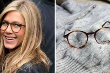 Įžymybės su akiniais