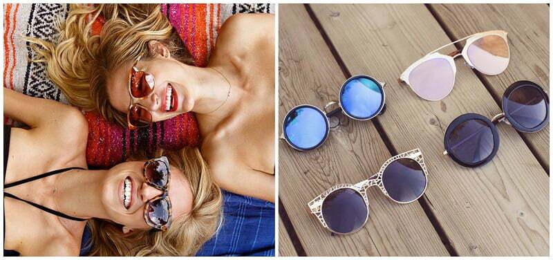 Saulės akiniai su UV apsauga