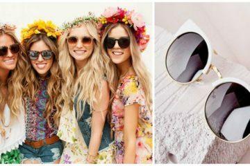 Saulės akiniai festivaliams