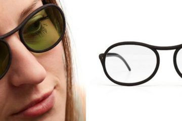 3D spausdintuvu spausdinti akiniai